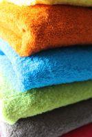 Bunte Frottee Handtücher von Dawelba