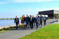 Die Verantwortlichen freuen sich über das positive Ergebnis der Landesgartenschau in Zülpich.