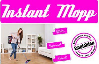Neuer Instant Mop revolutioniert die Wischmop-Industrie