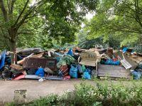 Die Sperrmüll-Flut nach der Hochwasser-Katastrophe