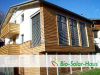 Holzhaus in Bio-Passivhaus - Bauweise (Foto: Bio-Solar-Haus GmbH)