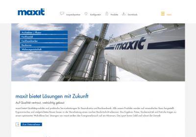 Website-Relaunch: Franken Maxit hat ab sofort ein neues Gesicht im Internet. (Foto: maxit)