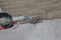 """Brandschutzputz für Betonbauteile: Der """"maxit ip 160"""" dient als zusätzliche Brandschutzbekleidung für viele Betonkonstruktionen."""