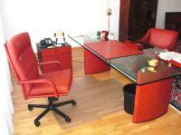 Bei dem Preis steigt die Libido: sexy rotes Matteo Grassi Chefbüro - statt 16000€ nur 4000€ komplett => Gutachter-Bewertung