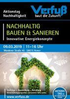 Rund um das nachhaltige Bauen und Sanieren präsentiert Verfuß am 9. März 2019 in seinem Bau-Innovationsforum neue Konzepte.