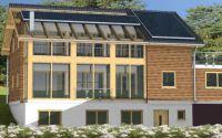 Holzhaus nach dem Haus-im-Haus-Prinzip