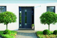 Elegant, stabil, wärmedämmend: So präsentieren sich die neuen Aluminium-Haustüren von German Windows. (Foto: GW GERMAN WINDOWS)