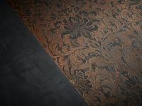 EINHORN WERKE Wandgestaltung - Beispiel: Oberflächen-Struktur mit STUCCORINO Effect Bronze
