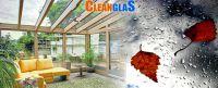 CleanglaS: Einmal putzen - lange sauber. Die Glas auf Glas Technologie hinterlässt keine chemischen Rückstände.
