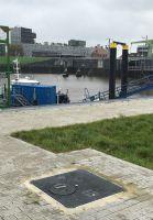 Das moderne Material erleichtert künftig die Arbeitsabläufe an der Schiffsanlegestelle. Foto: KHK, Karlsruhe