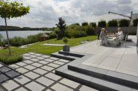 Das Vanity-System passt zu einer modernen Gartenarchitektur
