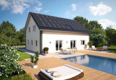 Unabhängig von Energielieferanten: Die Photovoltaikanlage nutzt die Kraft der Sonne und erzeugt so genügend Energie. (Foto: Hanlo)