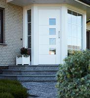 Die neuen HBI-Haustüren aus Kunststoff bestechen auch durch ihre Energieeffizienz