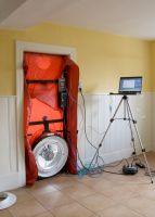 Blower Door Messung