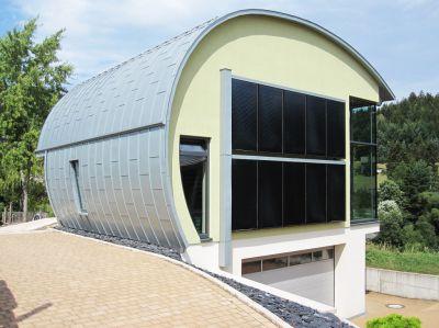 Energiehaus im oberfränkischen Wallenfels