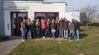 Fenster Knaut hatte Besuch von Schülern der Berufsschule Geilenkirchen.