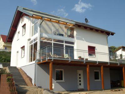 Fertighaus als Selbstbauhaus in Niedrigenergiehaus-Bauweise