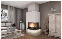 Das Heizkonzept der Zukunft besteht daraus, das Wohnzimmer mit einem Kaminofen auf kuschelige Temperatur zu bringen.