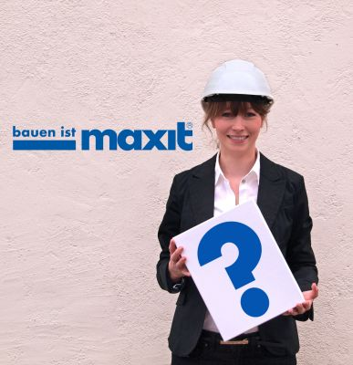 """BAU 2015: Maxit stellt eine neue Verarbeitungsmethode für Mauerwerk vor, die """"den Mauerwerksbau revolutionieren"""" soll."""
