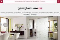 Die neue Website von ganzglastuere.de - jetzt auch für Smartphones und Tablets optimiert  Foto: ganzglastuere.de