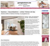 Die neue Website von ganzglastuere.de – noch übersichtlicher und kundenfreundlicher  Foto: ganzglastuere.de