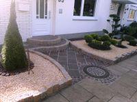Gartengestaltung-Eingang