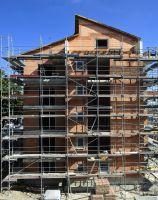 Zusammen mit Unipor-Mauerziegeln bilden die Ziegel-Systemkomponenten eine energieeffiziente Gebäudehülle (Bild: Unipor, München).