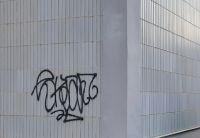 Gebrannter Graffitischutz
