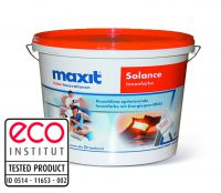 """""""Schimmel-Killer"""": Maxit solance ist eco-zertifiziert und sorgt dank des hohen Glasanteils von 40 Prozent für mehr Wohngesundheit."""