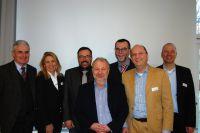 Neuer GIN-Vorstand mit dem wiedergewählten 1.Vorsitzenden Jochen Meilinger(2.v.r.).(c)A.Zielke/GIN,Ostfildern;www.nageplatten.de
