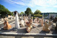 Natursteine für den Garten, bei BioTopic in Oer-Erkenschwick und im großen Natursteingarten–Freigelände Marl-Polsum