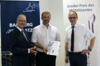 Großer Preis des Mittelstandes: Weigel-Schrüffer erreicht Finalrunde