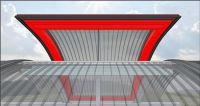 Mit der energetischen Optimierung der Seiten- und Kämpferklappe wird die Lichtbandserie JET-VARIO-THERM noch energieeffizienter.