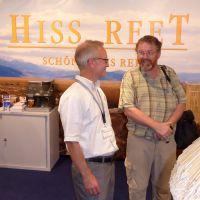 Während der Messe Nordbau in Neumünster vereinbarten Tom Hiss und William P. Cahill eine enge Zusammenarbeit.