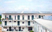 """Das """"Haus mit Zukunft"""" in Regensburg bietet bezahlbare Wohnräume in einem lebenswerten Quartier. (Foto: Herbert Stolz)"""