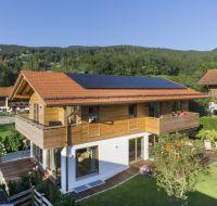 Der Bauherr setzte für sein Haus mit Unipor-Ziegelmauerwerk auf eine regional beliebte Lösung (Bild: Michael Naumann/ Ismaning).
