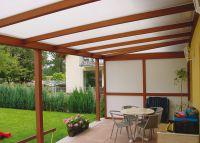 Terrassendach Stegplatten Hohlkammerplatten Doppelstegplatten Stegdoppelplatten