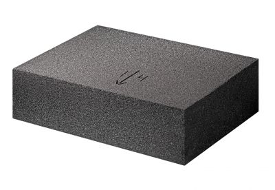 Neben den Dämmplatten Foamglas Ready Block T4+ wurden Gefälleplatten Foamglas Tapered T4+ verbaut. Foto: Deutsche FOAMGLAS GmbH .