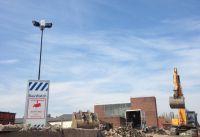 Kamerasysteme ermöglichen eine schnelle und wirtschaftliche Überwachung des Eigentums auf der Baustelle. (Foto: MAIBACH, Velen)