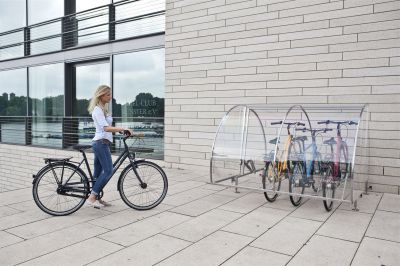 Fahrradgarage von CERVOTEC, abschließbar und design-orientiert