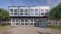 Individuelle Containerarchitektur:  ELA Container errichtet Meetingräume für Pharma-Unternehmen