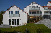 Schlüsselfertiger Wohnungsbau: Die drei Gebäude in Nieder-Olm (Rheinland-Pfalz) bieten höchsten Wohnkomfort dank KLB-Mauerwerk.