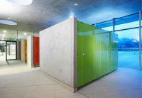 Die Glaskabinen der Serie Vitrum von Schäfer sind langlebig, reinigungsfreundlich und formschön. Fot: Schäfer Trennwandsysteme