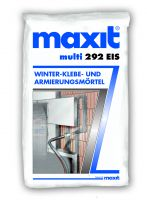 """Entwicklungsprojekt: Der Klebe- und Armierungsmörtel """"maxit multi 292 EIS"""" wird bis -10 Grad Celsius verarbeitungssicher sein."""