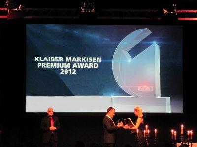 Bereits zum dritten Mal hat Klaiber Markisen Premium Awards für herausragende Leistung an ihre Premium Partner vergeben.
