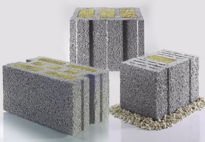 Gefüllte Leichtbeton-Mauersteine von KLB weisen eine hervorragende Ökobilanz auf.