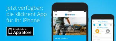 klickrent iOS App