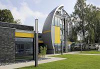 Für alle Fassaden geeignet - auch gebogene Formen lassen sich mit HPL-Platten von Wilkes realisieren. Foto: Wilkes GmbH