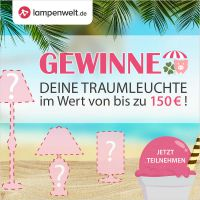 Ab sofort können Lampenwelt-Fans am Facebook-Sommer-Gewinnspiel teilnehmen | © Lampenwelt.de