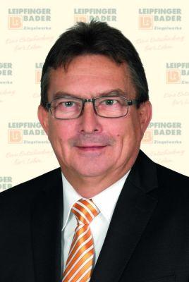 Seit dem 1. November bei Leipfinger-Bader für die Bauberatung im Raum Nordbayern zuständig: Bauingenieur Raimund Griebel (54)